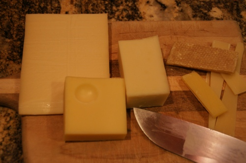 You really don't want to use the rind!