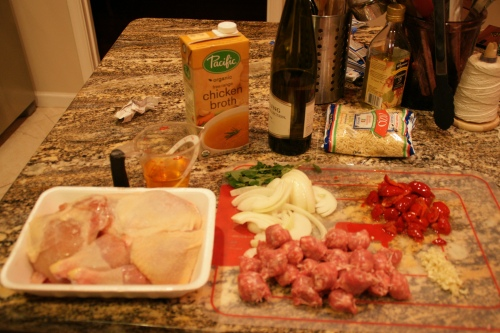 Just a few basic ingredients...