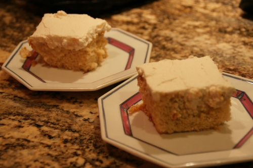 Why do I doubt you, Chris Kimball?  Your recipes never fail me.  This is a fabulous tres leches cake!