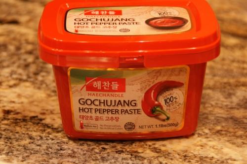 Korean hot pepper paste, Gochujang