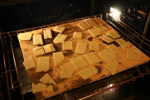 My old baking stone-- so many great baking uses