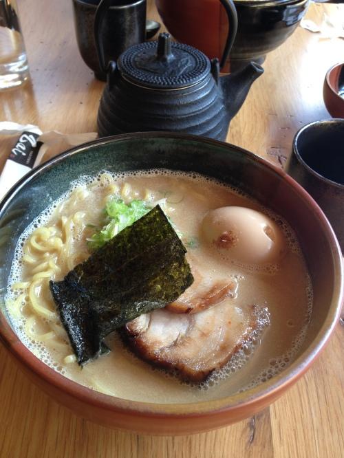 Tonkotsu ramen from Yakitori Zai!  Delish!