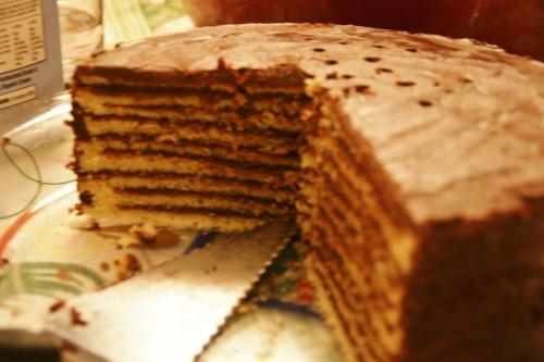 Smith Island Cake, aka Frosting with Cake!