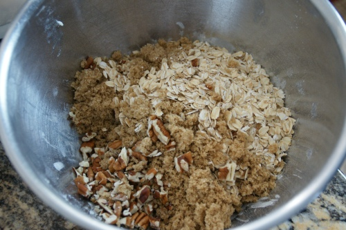 Who doesn't like oatmeal, brown sugar and pecans?