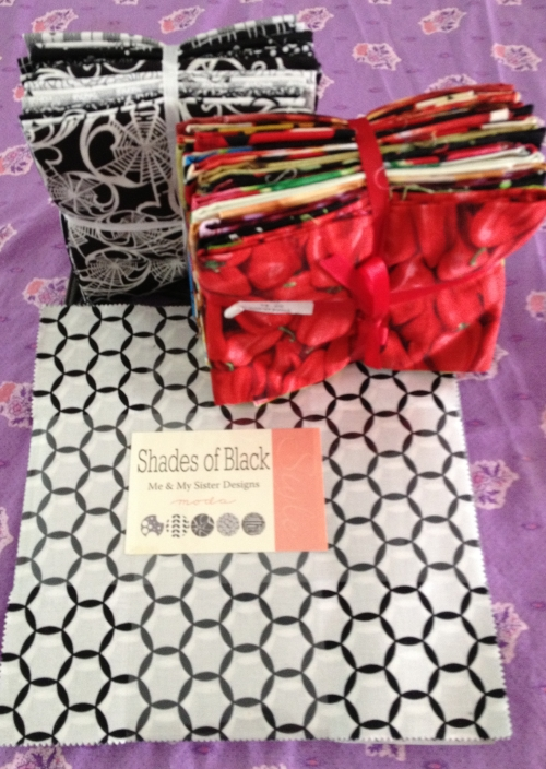 Two fat quarters and one layer cake!