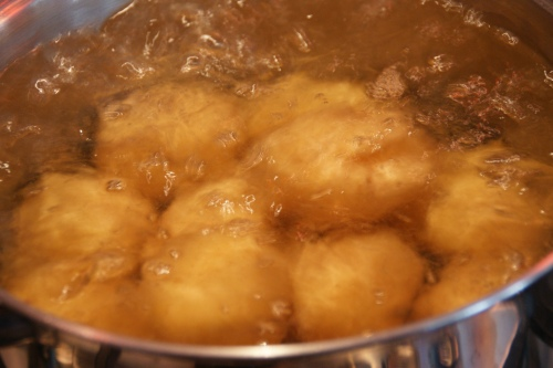 Buy potatoes that are the same size so they cook evenly!