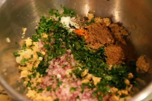 The aroma of the parsley and cumin-- YUM!