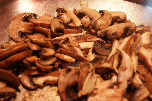 The earthy aroma sauteed mushrooms